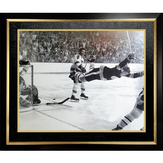 Bobby Orr 'The Goal' 11x14 Framed Photo - Boston Bruins
