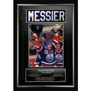 Mark Messier Career Collectible - Museum Framed - Ltd Ed of 111