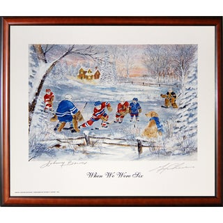 When We Were Six - Bower and Cheevers - Toronto - Boston - Framed