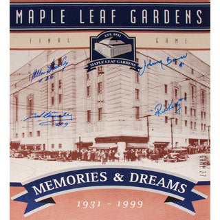 TML Gardens Final Ticket - Stanley, Kennedy, Bower and Kelly - 16x20 Photograph