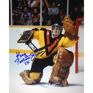 King Richard Brodeur 8x10 Photograph - Vancouver Canucks