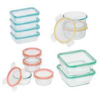 Snapware Total Solution Glass 24-piece Set