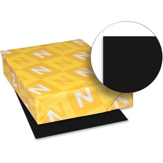 Neenah 65lb. Paper Black Card Stock - 1 Pack