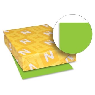 Neenah 65 lb. Paper Martian Green Card Stock