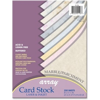 Array 65lb. Assorted Marble Colors Card Stock - 1 Pack
