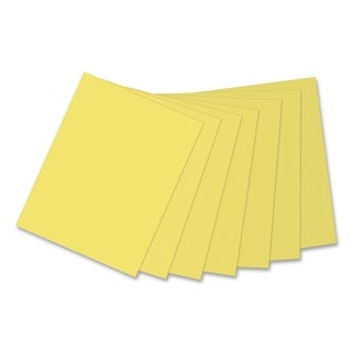 Pacon Kaleidoscope 24lb. Multi-Purpose Lemon Yellow Paper - 1 Ream