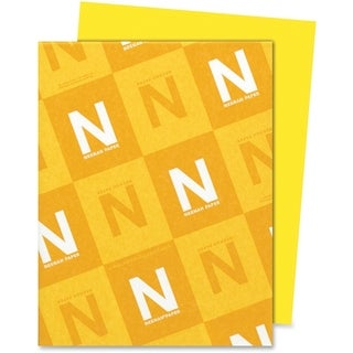 Astrobrights 24lb. Sun Yellow Colored Paper - 1 Ream