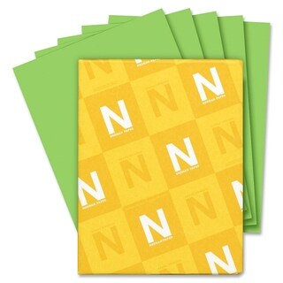 Astrobrights 24lb. Green Colored Paper - 1 Ream