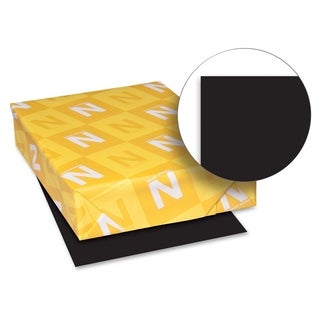 Astrobrights 24lb. Black Colored Paper - 1 Ream