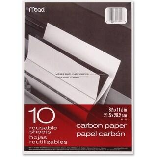 Mead Reusable Carbon Paper - 10 Sheets