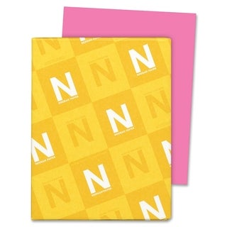 Astrobrights 24lb. Pink Colored Paper - 1 Ream