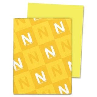 Astrobrights 24lb. Lemon Colored Paper - 1 Ream