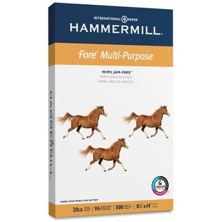 Hammermill Fore Legal 20lb. Multipurpose Paper - 1 Ream