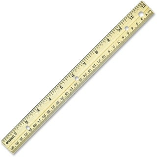 "Westcott 12"" Metal Edge Ruler"