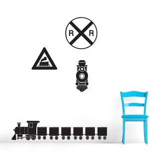 Train Wall Decals Set