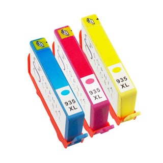 Sophia Global Remanufactured Ink Cartridge Replacement for HP 935XL (1 Cyan, 1 Magenta, 1 Yellow)