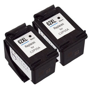 Sophia Global Remanufactured Ink Cartridge Replacement for HP 62XL (2 Black)