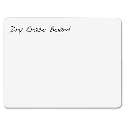 "Chenille Kraft 12""W x 9""H Student Dry-Erase Board"