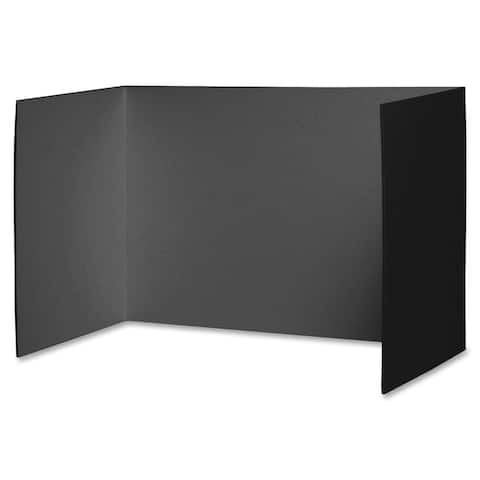 "Pacon® Privacy Boards, Black, 48"" x 16"", 4 Boards"