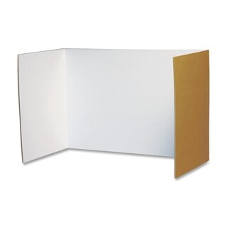 Pacon White Privacy Boards - Pack of 4
