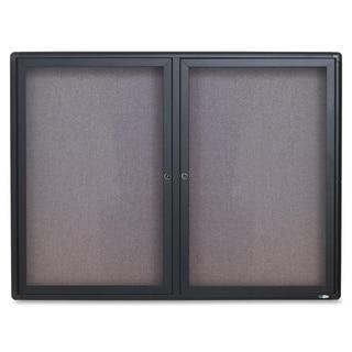 "Quartet 36""H x 48""W Radius Frame Indoor Bulletin Board"