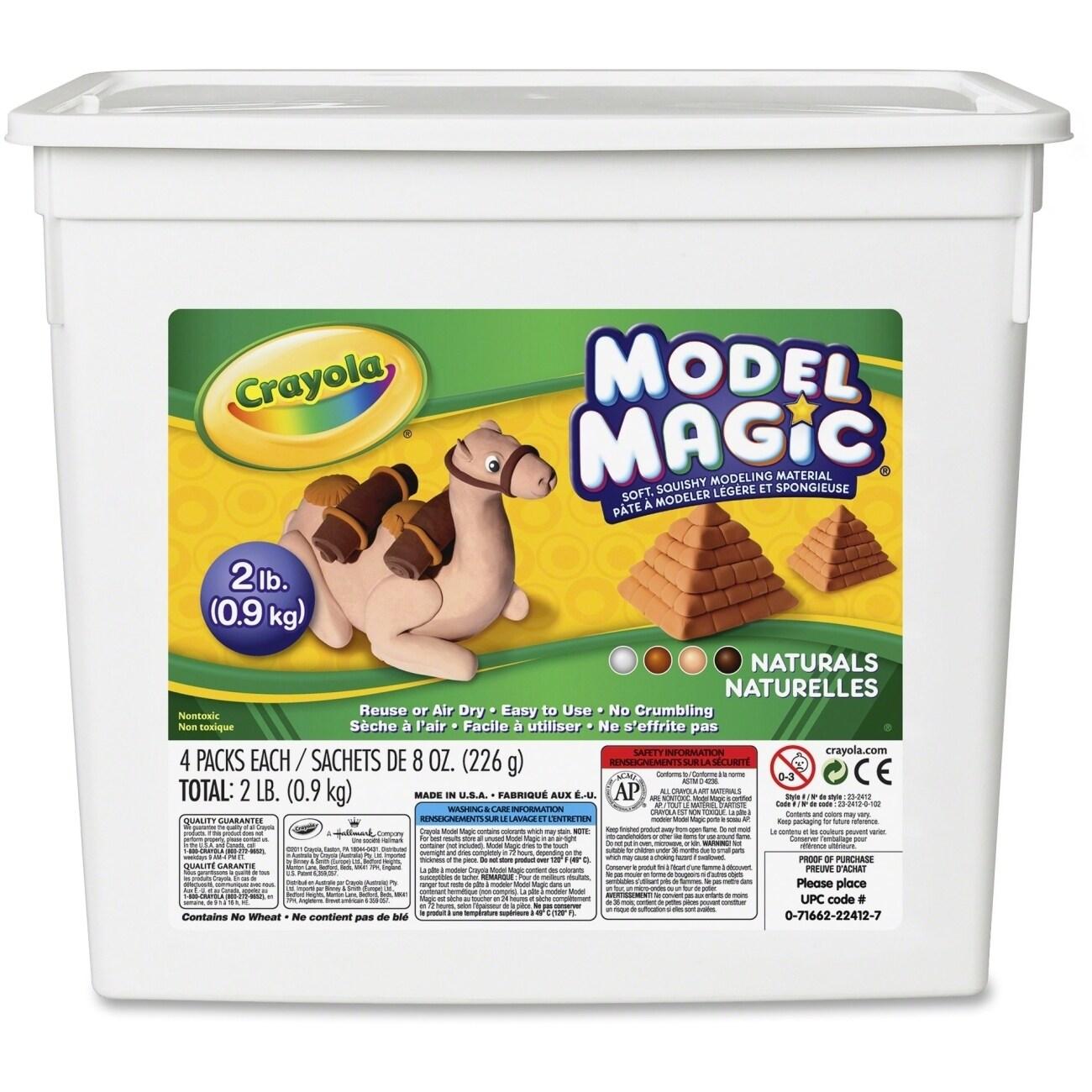 Crayola Model Magic 2 lb. Resealable Bucket - Natural Col...