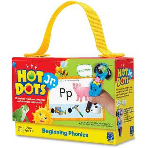 Educational Insights Hot Dots Jr. Cards: Beginning Phonics - 36/ST