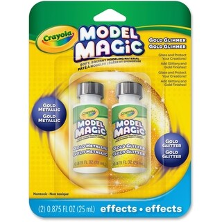Model Magic Glossy Gold Metallic Glaze - 1 Pack