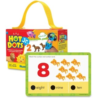 Hot Dots Jr. Card Set Numbers & Counting - 36 Pieces