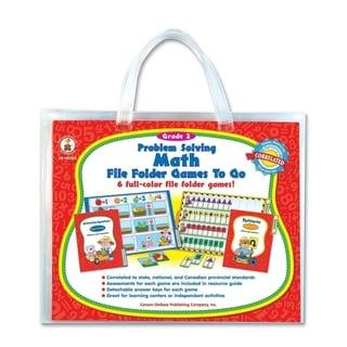 Carson-Dellosa Problem Solving Math Game - 1/EA