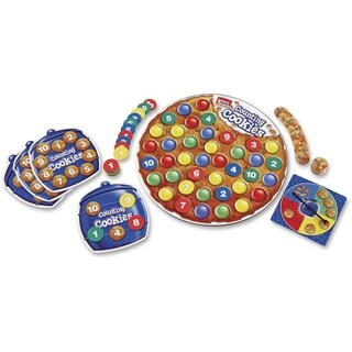 Smart Snacks Counting Cookies Game - 57 Pieces