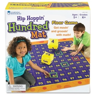 Learning Resources Hip Hoppin Hundred Mat (LER1100) - 1/EA