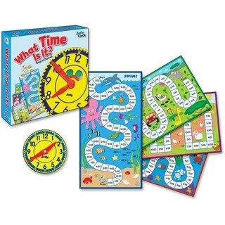 Carson-Dellosa What Time Is It? Board Game - 1/EA