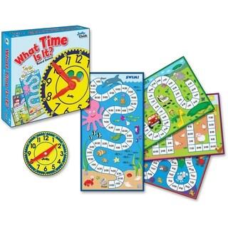Carson-Dellosa What Time Is It? Board Game - 1/EA