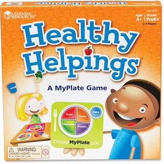 Learning Resources Healthy Helpings MyPlate Game - 56/EA