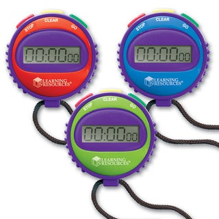 Learning Resources Simple StopWatch - 5/EA