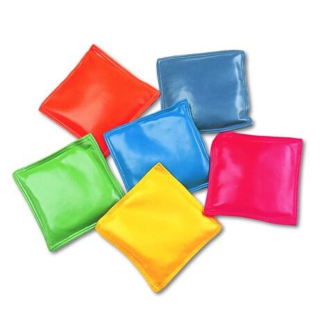 "Champion Sport MBB4SET Bean Bag Set, Vinyl, 4"", Assorted Colors, 6/set - 12/ST"