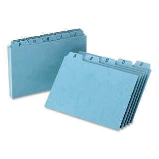 Oxford A-Z Card Guide Set - 25/ST