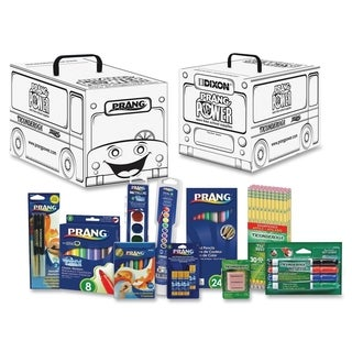 Prang Power Classroom Art Supply Kit - 101 Pieces