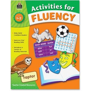 Teacher Created Resources Activities For Fluency