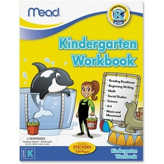 Mead Kindergarten Comprehensive Workbook Education Printed Book for Science/Mathematics/Social Studies - 1/EA
