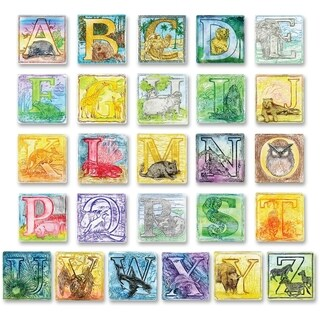 ChenilleKraft Alphabet Embossed Paper Set - 26/ST