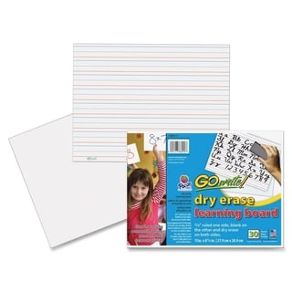 GoWrite! Dry Erase Learning Boards - 30 Sheets