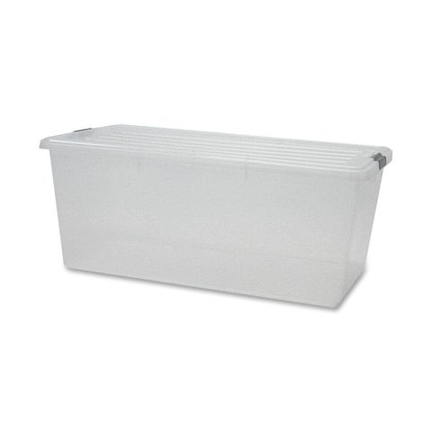 Iris Storage Box with Lid - 4/CT