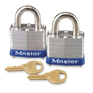 Master Lock High Security Keyed Padlock - 2/PK