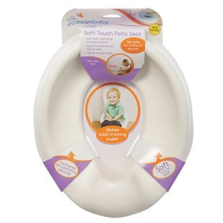 Dreambaby Soft Touch White Potty Seat
