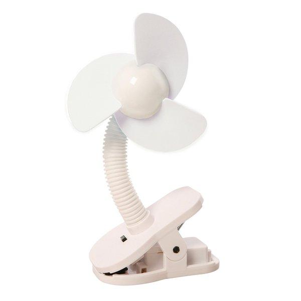 Dreambaby White Stroller Fan