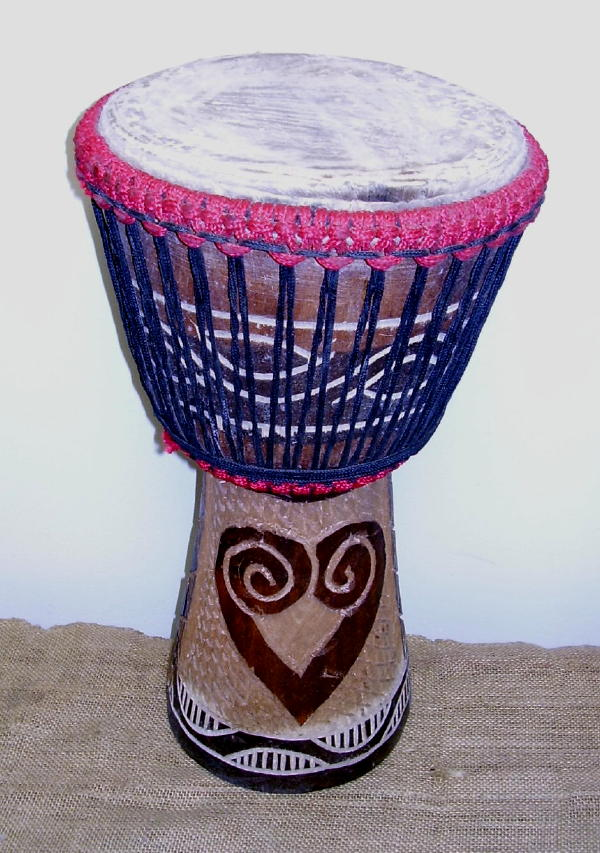 Full D Medium Jembe Drum (Ghana)