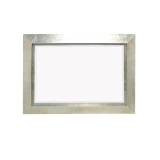 Teton Home Silver Wood Framed Mirror