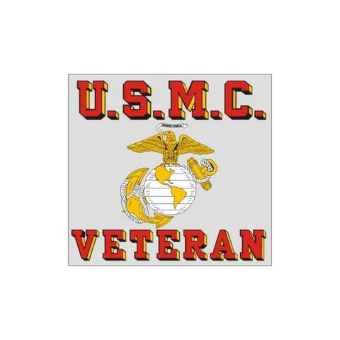 United States Marine Corps Veteran Car Decal